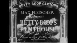 Betty Boop Shorts Image
